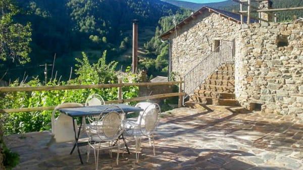 Vista terraza - Ca La Maria, Fornells de la Muntanya