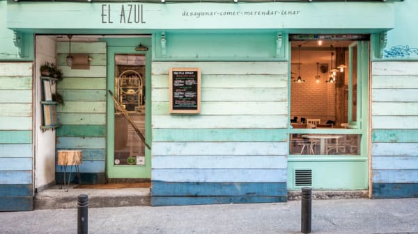Entrada - El Azul de Fúcar, Madrid