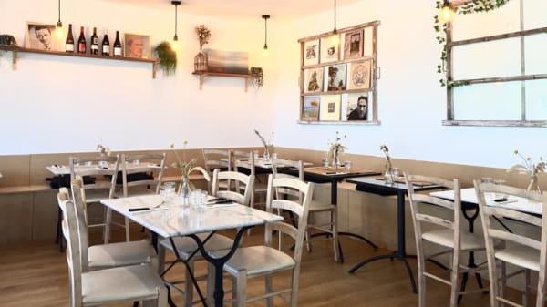 Salle du restaurant - Chez Suzanne, Courseulles-sur-Mer