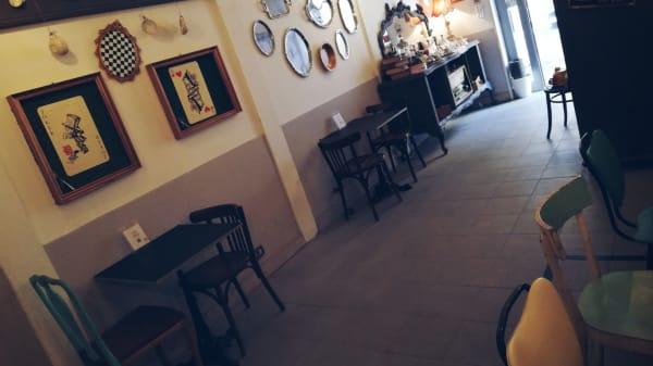 Vista sala - Démodé Bistrot, Anzio