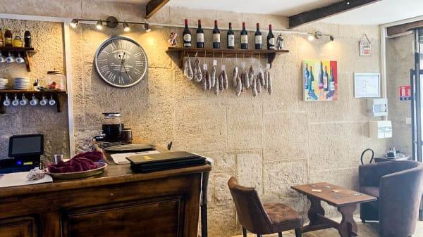 Vue de la salle - La Crypte, Béziers