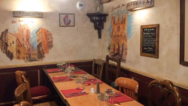 Salle du restaurant - Chez la Mère Louise, Lyon