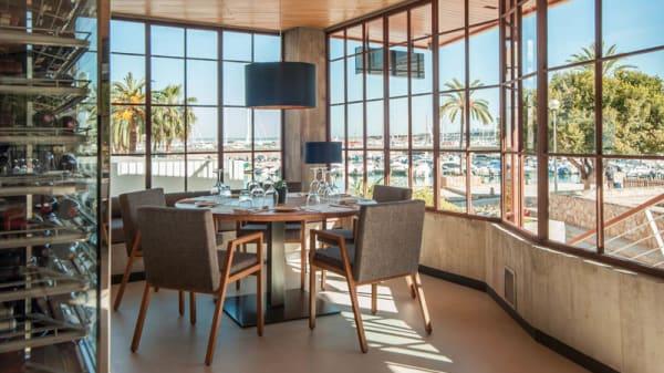Vista sala - Rosa Del Mar Restaurante & Club, Palma de Mallorca