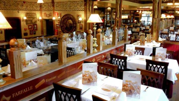 Vista interior - La Tagliatella Manoteras, Madrid