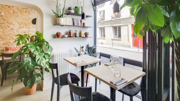 L'intérieur du restaurant - Salōn Marais, Paris