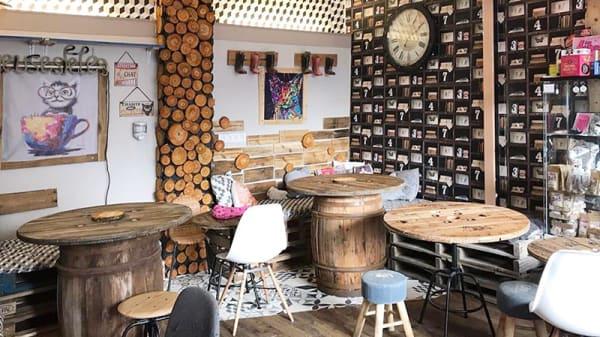 Vue de la salle - Chat'Lounge, Clermont-Ferrand