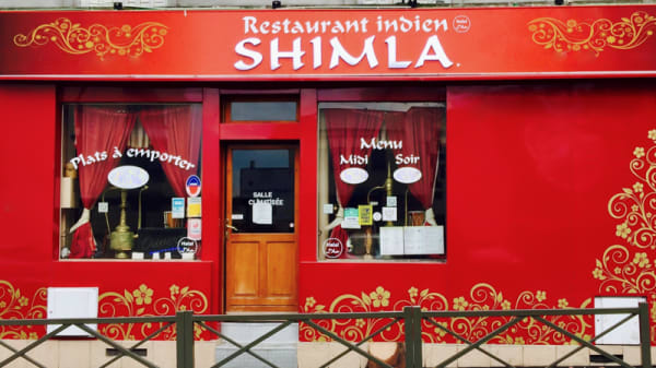 Façade - Shimla, Rosny-sous-Bois