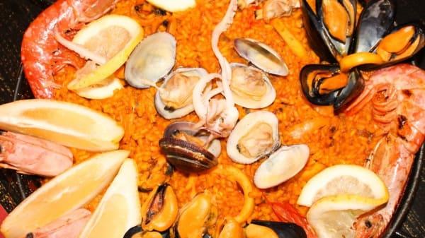 Paella de mariscos - Santa Marta Gastrovineria, Aversa