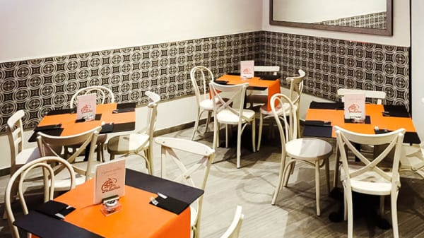 Vista sala - Cafetería Galatea, Madrid