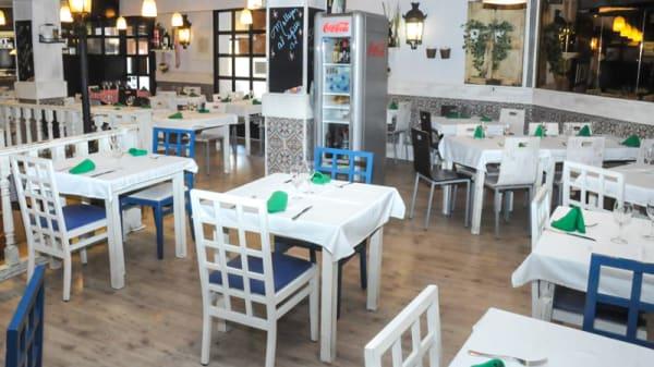 Sala del restaurante - Mesón el Cordero, Madrid