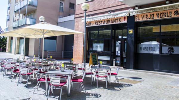 Vista terraza - El Viejo Roble, Sabadell