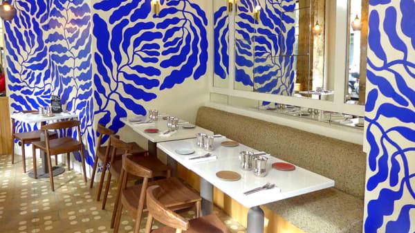 Salle du restaurant - Qasti, Paris