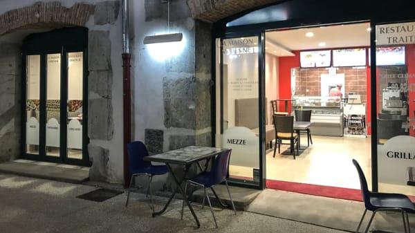 Devanture - La Maison Syrienne, Grenoble