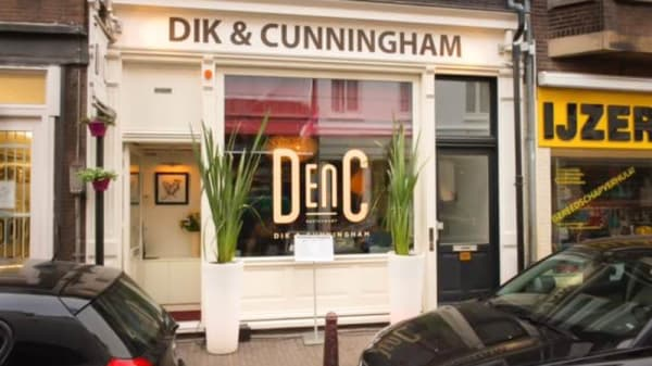 Ingang - DenC, Dik & Cunningham, Amsterdam
