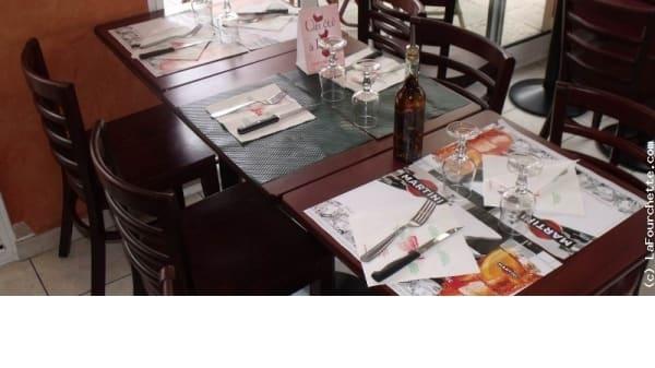 Table dressée - Pizza Di Roma Bussy, Bussy-Saint-Georges