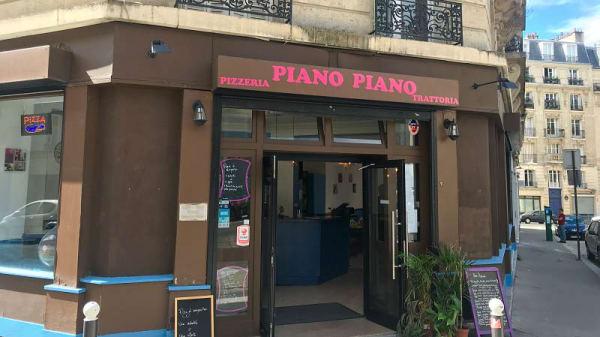entrée - Piano Piano, Paris