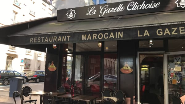 Terrasse - La Gazelle Clichoise, Clichy