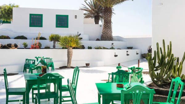Terraza - Restaurante Casa-Museo del Campesino, Mozaga