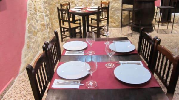 Vista mesa - El Tormes, Valencia