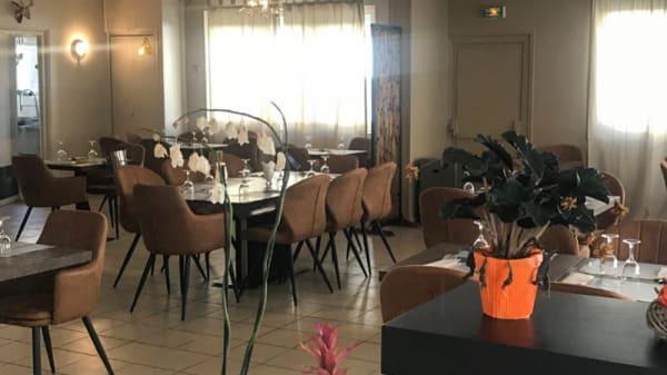 Salle du restaurant - Délices de l'Orient, Meaux