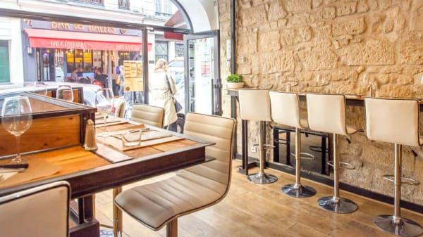 intérieur du restaurant - Milo, Paris