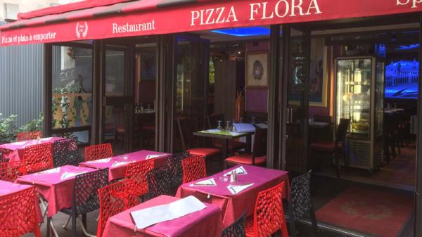 Devanture - Pizza Flora, Paris