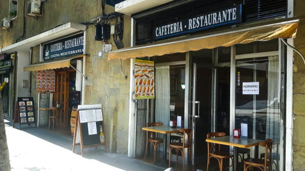 Entrada - Restaurant cafeteria Sancho, Barcelona