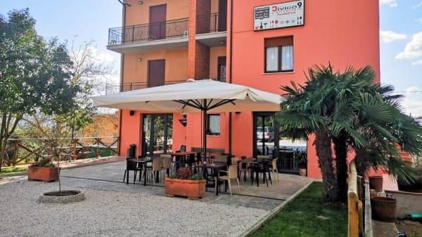 Facciata - Civico 9, Montegabbione