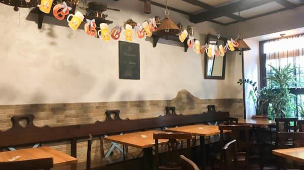 Vista sala - Taverna Bavarese Franz, Roma