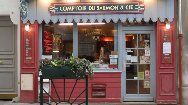 Devanture - Comptoir du Saumon, Rueil-Malmaison