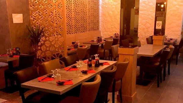 Vue de la salle - Sushi Maki, Paris
