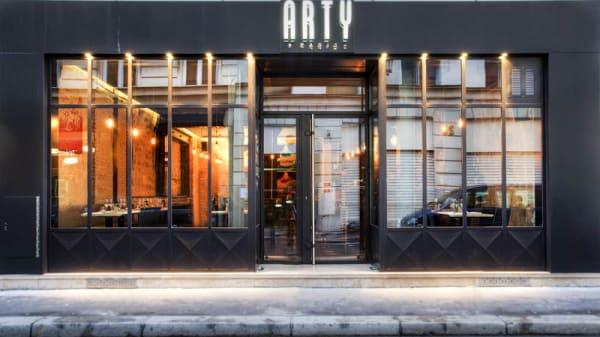 Façade du restaurant - Arty Le Restaurant, Paris