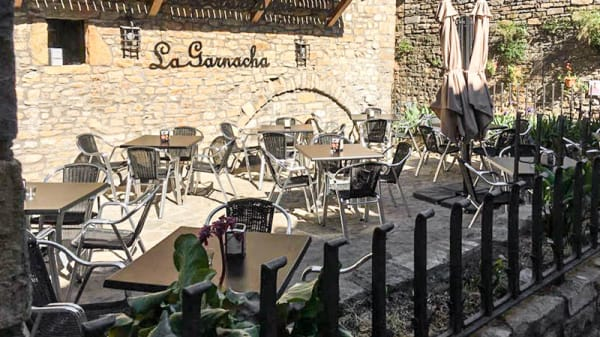 Terraza - La Garnacha, Ainsa