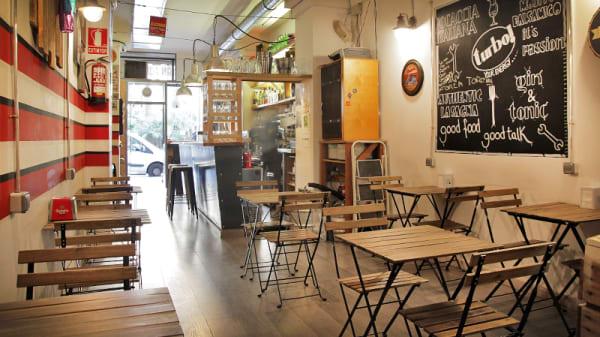 vista interior - Gran Torino Garage Bar, Barcelona