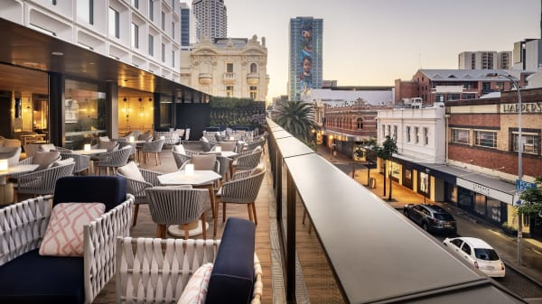 Rooftop terrace - The Loft, Perth (WA)