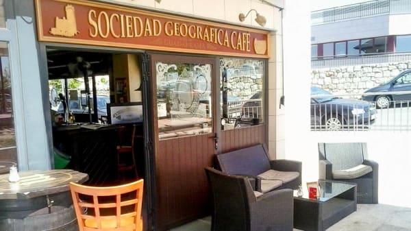 Entrada - Sociedad Geográfica del Guadarrama Café, Torrelodones