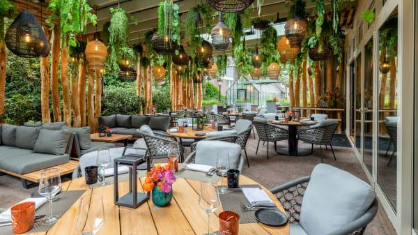 Botanische Tuin - Restaurant The George (Hotel de Leijhof Oisterwijk), Oisterwijk
