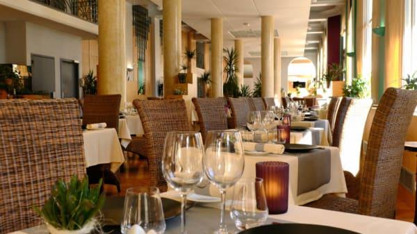 Vue des tables - L'Õ à la Bouche - Hôtel Radiana Resort, La Léchère