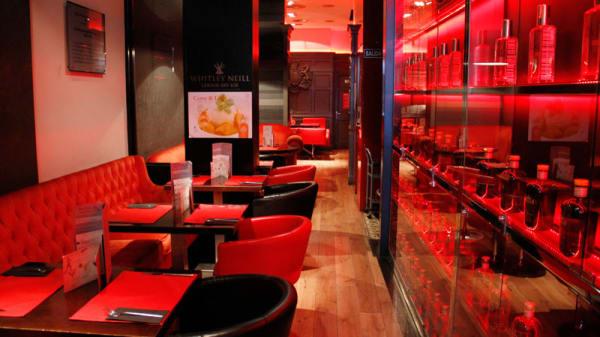 Vista mesas - Bristol Bar, Madrid