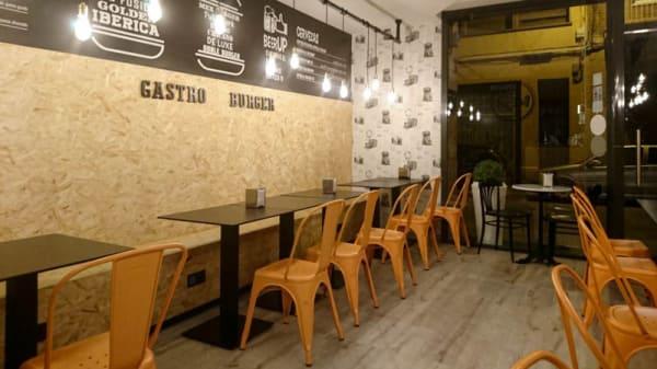 Vista sala - Gastro Burger, Hospitalet de Llobregat