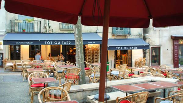 Terrasse - Tôt ou Tard, Montpellier