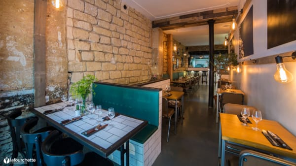 Salle du restaurant - Brutos, Paris