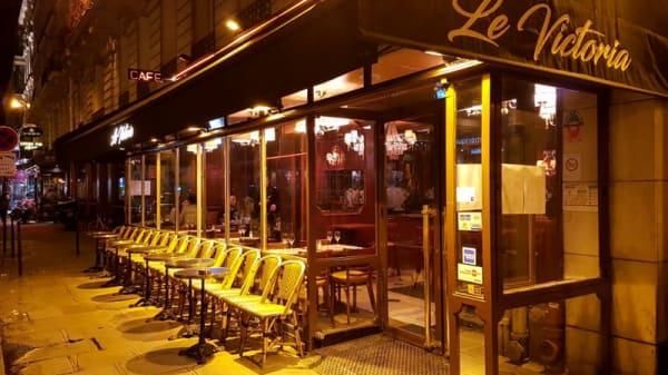 Devanture - Le Victoria, Paris