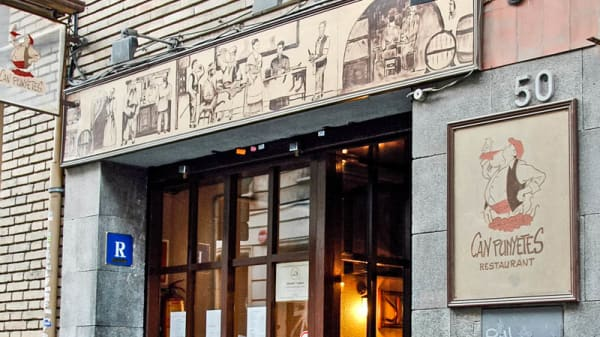 fachada del restaurante - Can Punyetes - Bonanova, Barcelona