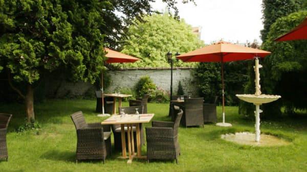 vue de la notre terrasse - Les Foudres, Ixelles
