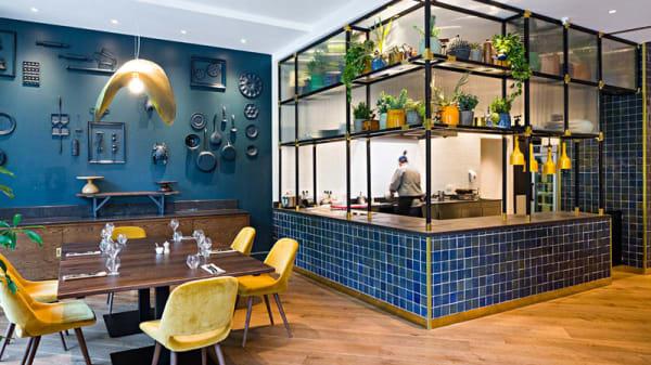 Vue de la salle - The 1040 Etterbeek's modern brasserie, Etterbeek