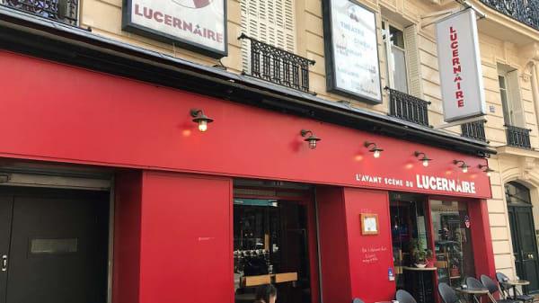 Entrée - Le Lucernaire, Paris