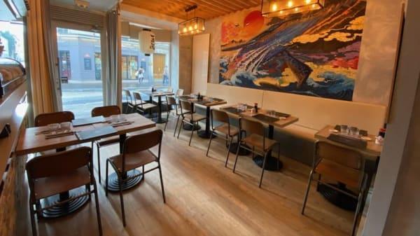 Vue de la salle - Sushi Jidai, Paris