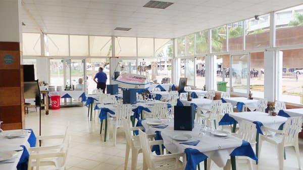 Vista sala - Chiringuito El Galgo, Fuengirola