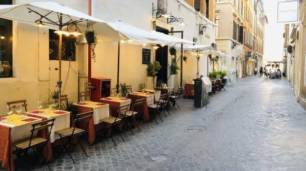 terrace - Alle Carrozze di Piazza di Spagna, Roma